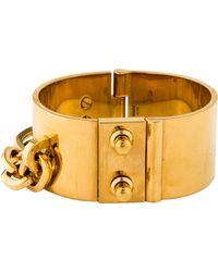 Louis Vuitton - Lock Me Manchette Cuff Gold - Lyst