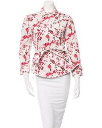 Thakoon Addition - Printed Jacket W/ Tags - Lyst