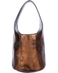 Tom Ford - Mini Miranda Snakeskin Bag Bronze - Lyst