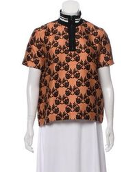 Mother Of Pearl - Floral Short Sleeve Top - Lyst