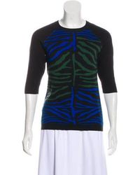 Torn By Ronny Kobo - Knit Patterned Top - Lyst