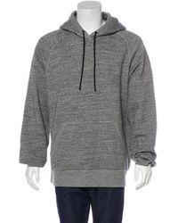 Rag & Bone - Knit Hoodie Grey - Lyst