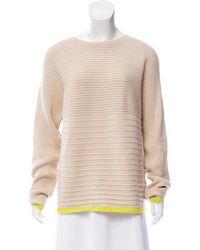 Nomia - Variegated Rib Sweater W/ Tags Neutrals - Lyst