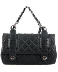 Chanel - Small In The Mix Messenger Bag Silver - Lyst