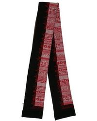Dior Homme - Charm Wool & Cashmere-blend Scarf W/ Tags Black - Lyst