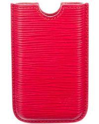 Louis Vuitton - Epi Iphone 4 Hardcase - Lyst
