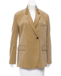 Golden Goose Deluxe Brand - Corduroy Notch-lapel Blazer W/ Tags Tan - Lyst