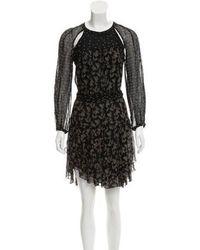 Étoile Isabel Marant - Silk Patterned Dress - Lyst