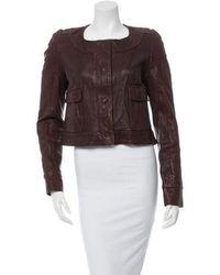 Thakoon - Leather Jacket - Lyst