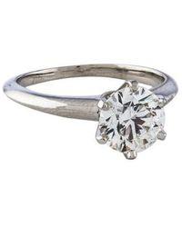 Tiffany & Co. - 1.55ct Diamond Engagement Ring - Lyst