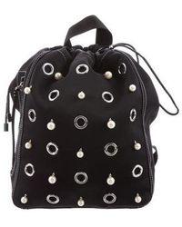 3.1 Phillip Lim - Embellished Drawstring Backpack Black - Lyst