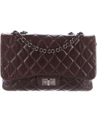 Chanel - Lambskin Mademoiselle Flap Bag Brown - Lyst