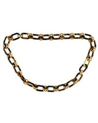 Michael Kors - Chain-link Waist Belt Brown - Lyst
