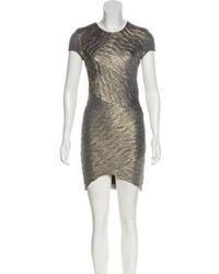 Torn By Ronny Kobo - Ruched Mini Bodycon Dress - Lyst