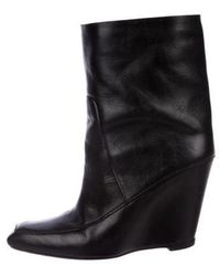 Alexander Wang - Cato Wedge Boots - Lyst