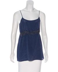 MAX&Co. - Sequined Sleeveless Top - Lyst