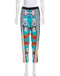 Clover Canyon - Printed High-rise Pants - Lyst