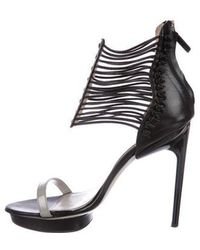 Jason Wu - Bryce Multistrap Sandals Black - Lyst