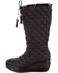 Tory Burch - Gigi Quilted Boots - Lyst