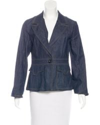 Christian Lacroix - Embroidered Denim Jacket Multicolor - Lyst