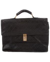 a4b27578e175 Lyst - Chanel Caviar Timeless Cc Vanity Case Black in Metallic