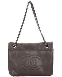 Chanel - Caviar Timeless Soft Shopper Tote - Lyst