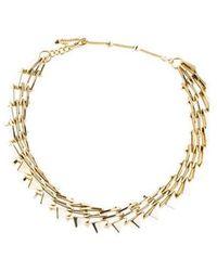 Alexis Bittar - Interlocking Link Necklace Gold - Lyst