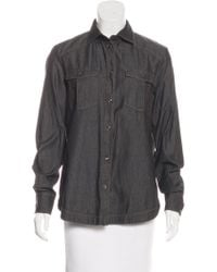 Loro Piana - Collared Button-up Top - Lyst