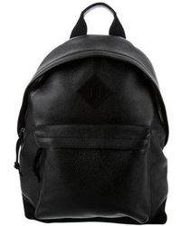 Tom Ford - Suede-trimmed Leather Backpack W/ Tags Black - Lyst