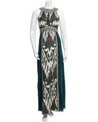 Talitha - Printed Maxi Dress W/ Tags - Lyst
