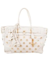 Louis Vuitton - Polka Dot Panama Big Steamer Bag - Lyst