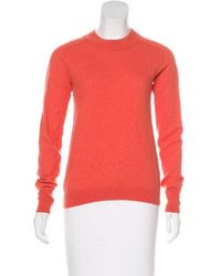 Creatures of Comfort - Wool Knit Sweater Coral - Lyst
