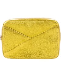 A.L.C. - Grained Leather Clutch - Lyst