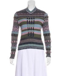 Christian Lacroix - Abstract Crew-neck Sweater - Lyst