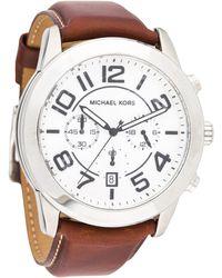 bc9350804 Lyst - Michael Kors Mens Mercer Chronograph Rose Gold Dial Rose Gold ...