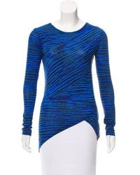 Torn By Ronny Kobo - Striped Long Sleeve Top W/ Tags - Lyst