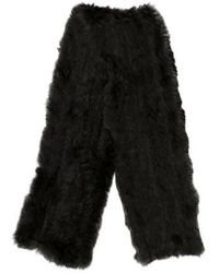 JOSEPH - Knitted Fur Scarf - Lyst
