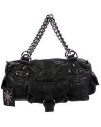 Thomas Wylde - Leather Handle Bag Black - Lyst