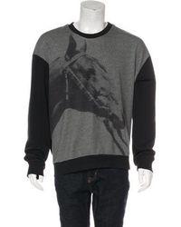 3.1 Phillip Lim - Pixel Horse Sweatshirt Grey - Lyst