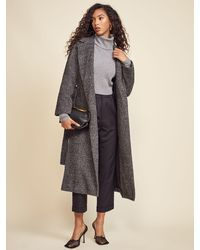 Reformation Gooding Coat - Gray