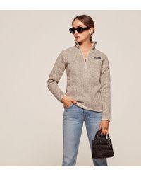 Reformation Patagonia Better Sweater 1/4 Zip Fleece - Multicolor