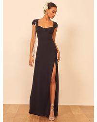 Reformation Amaryllis Dress - Black