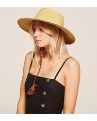 Reformation Swahili Ghanaian Straw Sun Hat - Natural