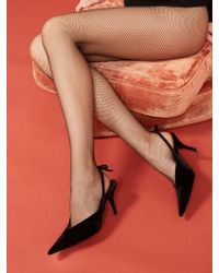 Reformation Swedish Stockings Lia Premium Tights - Black