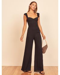 Reformation Tangelo Jumpsuit - Black