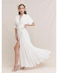 Reformation Winslow Dress - White