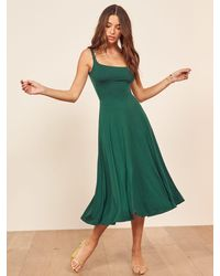 Reformation Mary Dress - Green