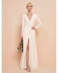 Reformation Gatsby Dress - White
