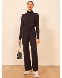 Reformation Venice Two Piece - Black
