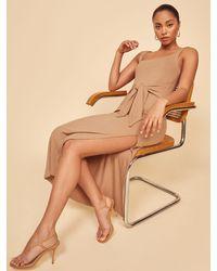 Reformation Hosby Dress - Brown